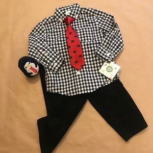 Adorable 3 piece Boys Outfit